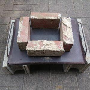 バーベキューコンロを短時間自作‼ブロックとレンガでチョー便利品!